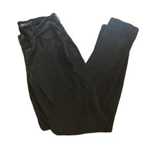 Old Navy Black Faded Curvy Skinny Jeans